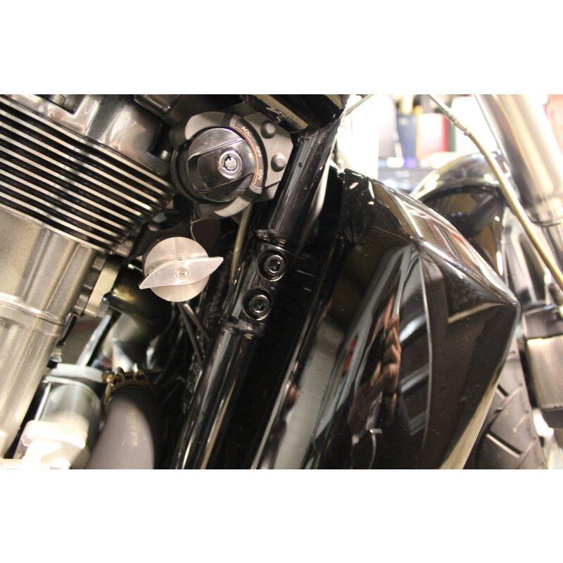 Harley Hiltzeschild Schrauben Schwarz V-Rod® Night Rod Special® 2002+