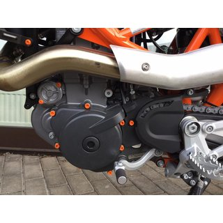 Schraubensatz Motor | KTM 990 Adventure / S/R | orange