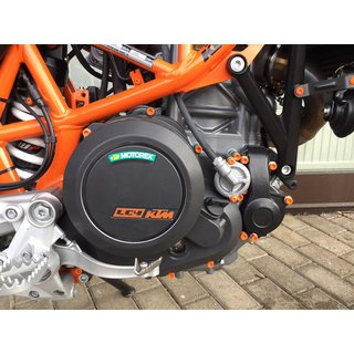 Schraubensatz Motor | KTM 640 Adventure / R | orange